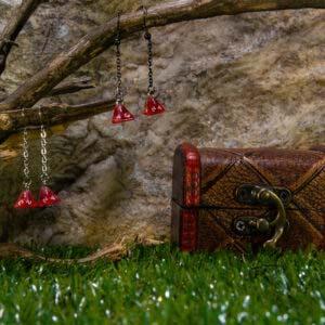 earrings 1d4 red