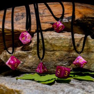 necklace pink attitude 00